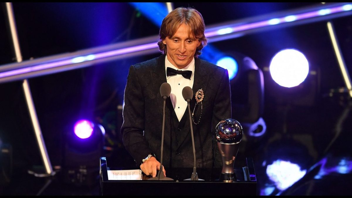 Modric is FIFA best player of the year